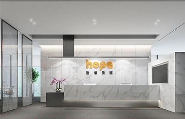 浩博国际传媒办公室装修设计
