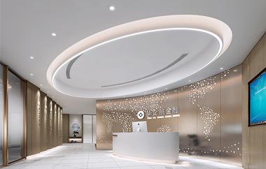 华企航金融集团办公室装修